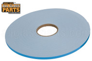 Foam Glazing Tape (Adhesive, Double Sided) (1/8'' x 3/8'' Length: 75 Ft.) (White)