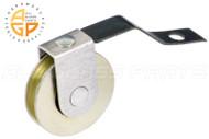 Sliding Screen Door Roller (1'' Dia. Roller) (1-11/16'' Length) (Steel Ball Bearing Wheel)