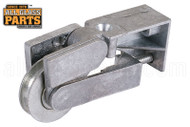 """Sliding Glass Door Roller (2-7/8'' Length) (3/4"""" Wide) (Single Mounting Hole)"""