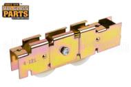 Sliding Glass Door Roller (Tandem Wheels) (4-7/8'' Length) (1-1/8'' Height)