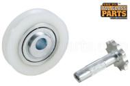 Sliding Glass Door Roller (Wheels) (1-7/16'' Diameter) (5/16'' Width) (1/4'' Inside Dia.)