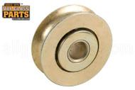 Sliding Glass Door Roller (Wheels) (1-1/8'' Diameter) (5/16'' Width) (1/4'' Inside Dia.)