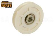 Sliding Glass Door Roller (Wheels) (1-3/4'' Diameter) (3/8'' Width) (1/4'' Inside Dia.)