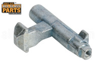 Patio Door Lever Latch (2-1/8'' x 1-1/4'')