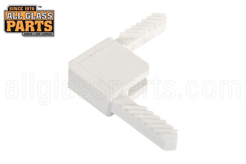 C-Sash Press-Lock Corner (White)