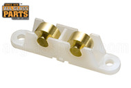 Sliding Window Tandem Roller (1/2'' Height) (Wheels: Brass)