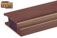 Standard Extruded Sliding Screen Door Bar (Brown)