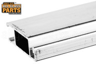 Standard Extruded Sliding Screen Door Bar (White)