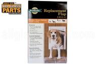 Replacement Flaps for Deluxe Series Pet Door (8'' x 11'' Flap Opening)