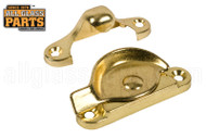 Double Hung Sash Lock (Brass Plated)