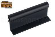 Fixed Panel Holder (Black) (3'' Length) (1-7/16'' Height)