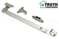 "Push-bar Operator (Telescoping) (Truth Hardware 12.41) (Silver) (10-5/8"" length) (Yoke Length 27/32"")"