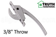 Locking Handle (Truth Hardware 24.10) (Silver)