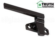 Cam Handle (Offset Base) (Truth Hardware 25.29) (Dark Brown) (Left)