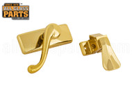 Lever Handle Set (Brass)