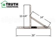 Awning Window Hinge (Truth Hardware 13.17) (26 inch track)