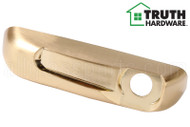 Operator Cover (Folding Handle) (Truth Hardware 41212) (Left) (Brushed Brass)