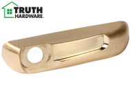Operator Cover (Folding Handle) (Truth Hardware 41212) (Right) (Brushed Brass)