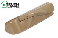 Operator Cover & Folding Handle (Truth Hardware 'Encore Tango' 12614) (Left) (Coppertone)