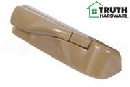 Operator Cover & Folding Handle (Truth Hardware 'Encore Tango' 12614) (Right) (Coppertone)