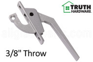 Locking Handle (Truth Hardware 24.12) (Silver)