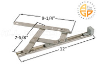 Friction Hinge (Securistyle 'Defender') (12-3/16 inches length)