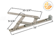 Friction Hinge (Securistyle 'Defender') (16-3/16 inches length)