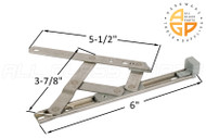 Friction Hinge (Securistyle 'Defender') (6-3/16 inches length)