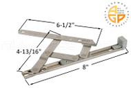 Friction Hinge (Securistyle 'Defender') (8-3/16 inches length)