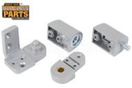 Commercial Door Pivot Set (YKK) (Aluminum) (Left)