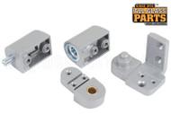 Commercial Door Pivot Set (YKK) (Aluminum) (Right)