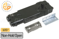 Concealed Overhead Door Closer (105 degree) (Non-Hold Open)
