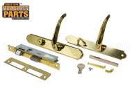 Storm Door Handle (Brass)