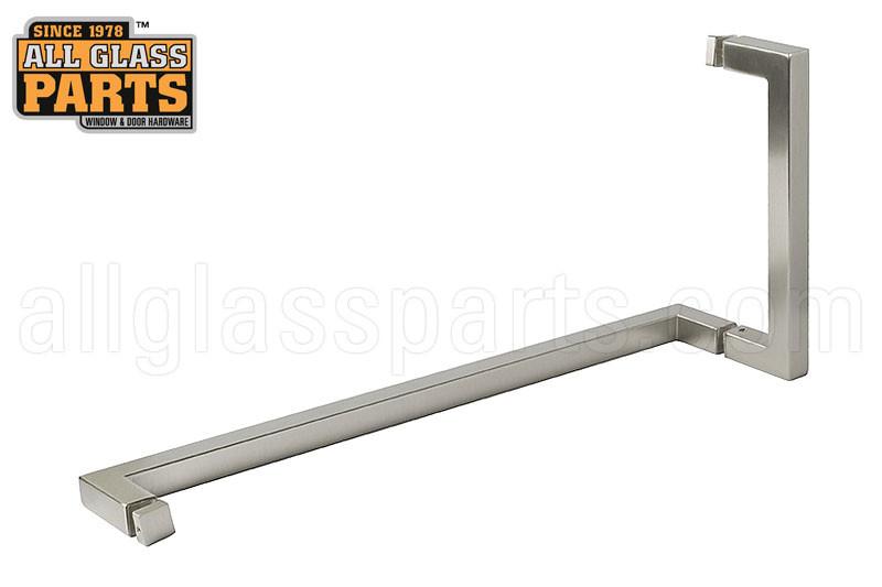 Square Handletowel Bar Combo 8 Handle To 18 Bar Brushed