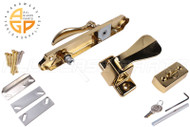 Handle Set Brass (Mortise Style)