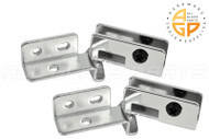 Glass Door Hinge (Chrome)