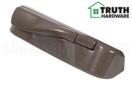 Operator Cover & Folding Handle (Truth Hardware 'Encore Tango' 12614) (Right) (Brown)