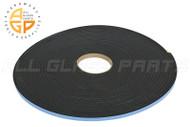 """Silicone Glazing Tape (1/4"""" x 3/8"""" Foam Tape) (22 lbs Density)"""