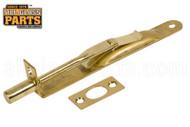 Residential Flush Bolt (Brass) (6'' Length)