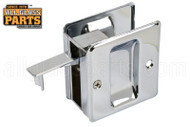 Pocket Door Combination Pull (Chrome)