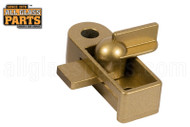 Storm Door Dead Bolt (Gold)