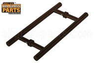 3/4'' H-style 'Ladder' Handle (8'') (Oil-rubbed Bronze)