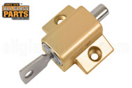 Sliding Glass Door Lock (Keyed) (Brass)