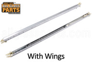 Window Sash Balances (Spring) (w Wings) (Lbs. xx) (Length: 18'')