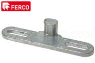 Locking Handle Keeper (Ferco) (Height 9/16 inches)