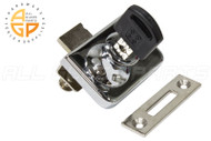Glass Mounted Cabinet Lock (5-6mm)