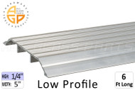 Thresholds (Low Profile) (1/4'' High) (5'' Width) (6' Length)