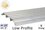 Thresholds (Low Profile) (1/4'' High) (8'' Width) (6' Length)
