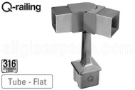 Square Line 0-70 Degree Adjustable Top Post Bracket (Outdoor)