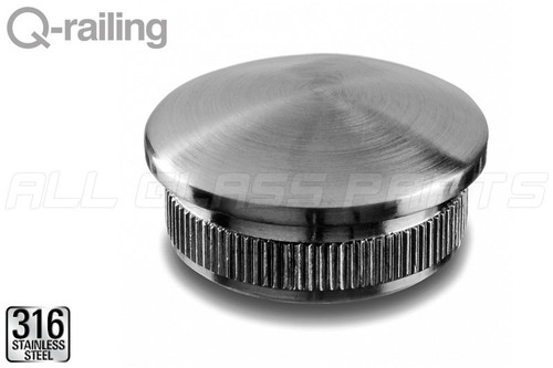 Round Profile Handrail Cap (EASY HIT, Arched) (1-1/2